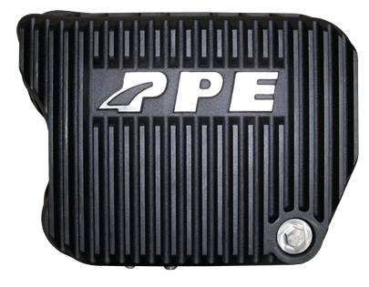 PPE 228051020 Heavy-Duty DEEP Aluminum Transmission Pan - Dodge Black