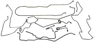 Inline Tube Stainless Brake Lines