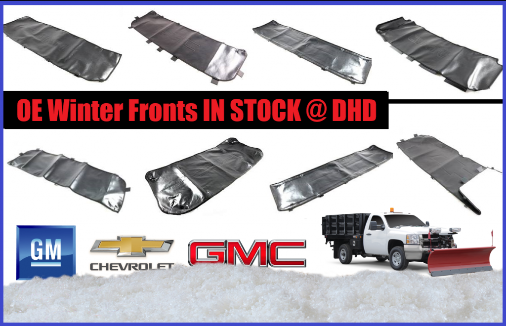 GM Duramax Winter Fronts