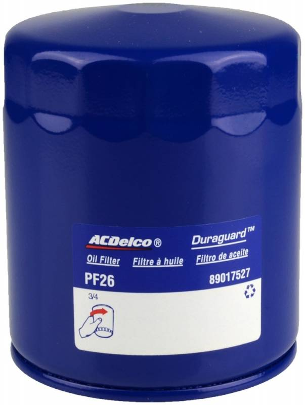 AcDelco PF26 Engine Oil Filter (2020 L5P)
