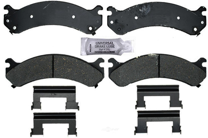 Front and Rear Ceramic Brake Pads Kit ACDelco for Chevy GMC Silverado 2500 HD