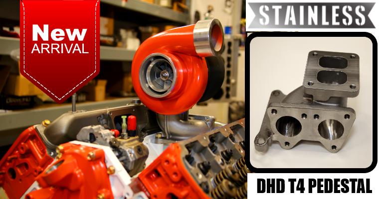 DHD Stainless Duramax T4 Pedestal