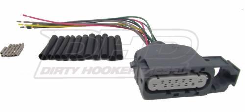 Dirty Hooker Diesel - DHD 100-449 NSBU Connector Repair Kit (1 Plug)