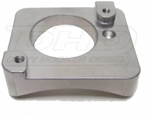 """Dirty Hooker Diesel - DHD 007-4110 LML Mass Air Flow Sensor Mount 4"""" Aluminum"""