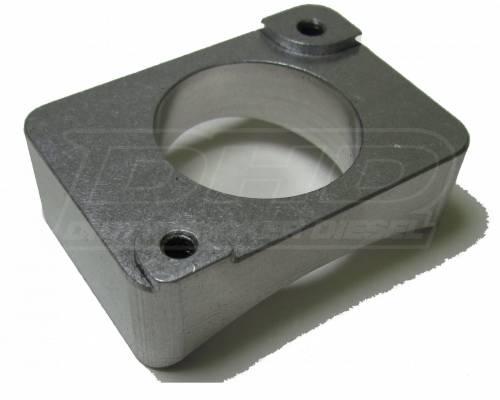 """Dirty Hooker Diesel - DHD 007-4010 01-07 Classic Mass Air Flow Sensor Mount 4"""" Aluminum"""