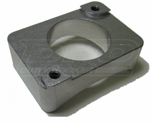 """Dirty Hooker Diesel - DHD 007-5010 01-07 Classic Mass Air Flow Sensor Mount 5"""" Aluminum"""