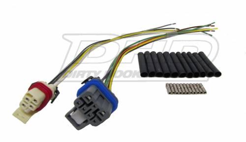 Dirty Hooker Diesel - DHD 100-448 NSBU Connector Repair Kit (2 Plug)