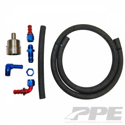 PPE - PPE 113053000 Billet Aluminum Fuel Pickup with lift pump fittings, hose and clamps GM 2001-2005 LB7/LLY