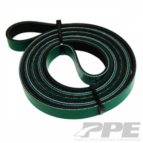 PPE - PPE 113061088 Heavy Duty Serpentine Belt 2002 - 2010  Duramax Dual Fueler kit only
