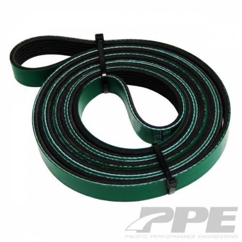 PPE - PPE 113061088 Heavy Duty Serpentine Belt 2002 - 2010  Duramax Dual Fueler kit only