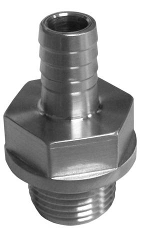 "PPE - PPE 116005033 Water Inlet Fitting 3/8"" barb"