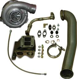 PPE - PPE 116007000 GT40R Series Turbo Installation Kit - GM 6.6L Duramax 2006-2010 LBZ/LMM Kit plus 4094R Turbo