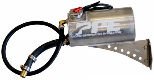 PPE - PPE 116454025 Coolant Overflow Tank - GM 6.6L Duramax 2001-2007 Diesel/gas