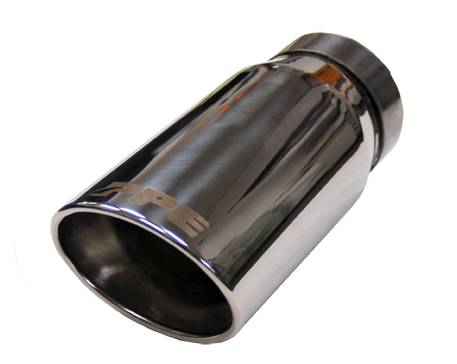 PPE - PPE 117020000 Chrome Exhaust Tip - GM 6.6L Duramax 2001-2007