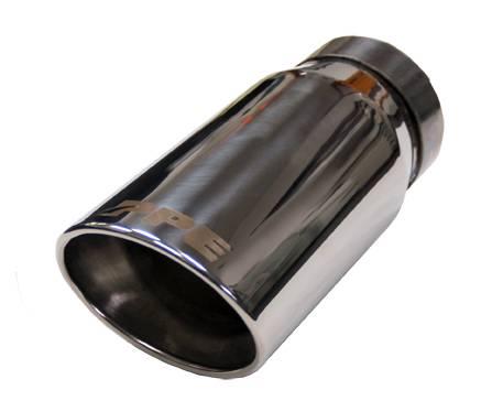 PPE - PPE 117020000 Chrome Exhaust Tip - GM 6.6L Duramax 2001-2007