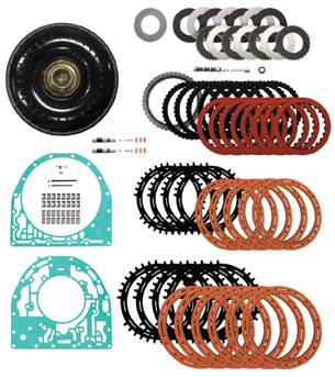PPE - PPE 128034201 Stage4 Transmission Upgrade Kit Without Converter - GM Allison 2001-2004