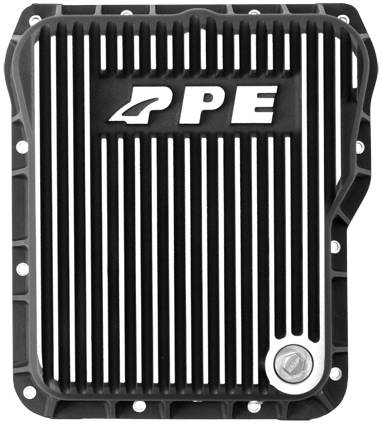 PPE - PPE 128051010 Heavy-Duty DEEP Aluminum Transmission Pan - GM Allison 1000/2000/2400 series - Brushed