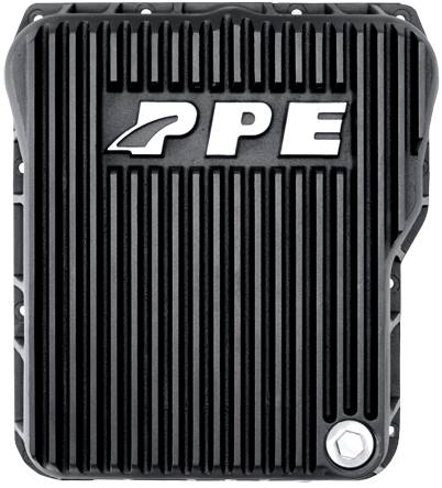 PPE - PPE 128051020 Heavy-Duty DEEP Aluminum Transmission Pan - GM Allison 1000/2000/2400 series - Black
