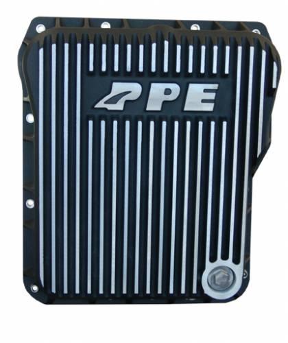 PPE - PPE 128052010 Standard Profile Aluminum Transmission Pan - GM Allison 1000/2000/2400 series - Brushed