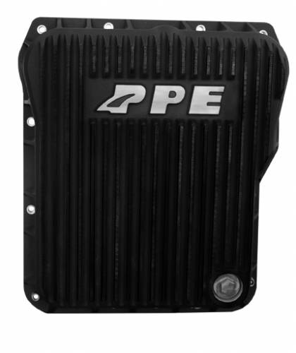 PPE - PPE 128052020 Standard Profile Aluminum Transmission Pan - GM Allison 1000/2000/2400 series - Black