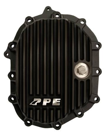 PPE - PPE 138041020 Front Aluminum Differential Cover Black - GM LML