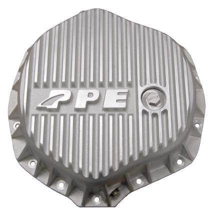 PPE - PPE 138051000 Heavy-Duty Aluminum Rear Differential Cover Raw - GM/Dodge