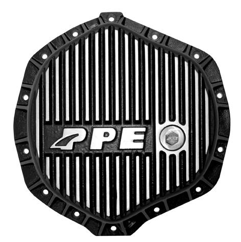 PPE - PPE 138051010 Heavy-Duty Aluminum Rear Differential Cover Brushed - GM/Dodge