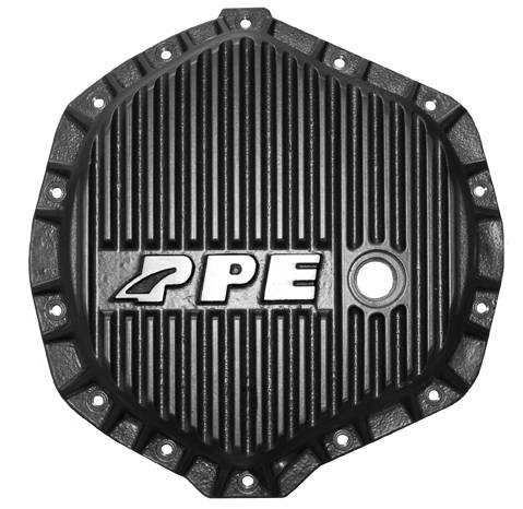 PPE - PPE 138051020 Heavy-Duty Aluminum Rear Differential Cover Black - GM/Dodge