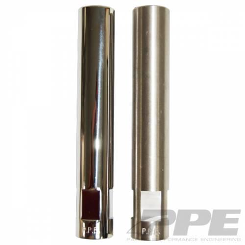 PPE - PPE 158030200 Tie Rod Sleeves Polished - GM/NAPA 2001-2010