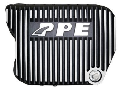 PPE - PPE 228051010 Heavy-Duty DEEP Aluminum Transmission Pan - Dodge Brushed