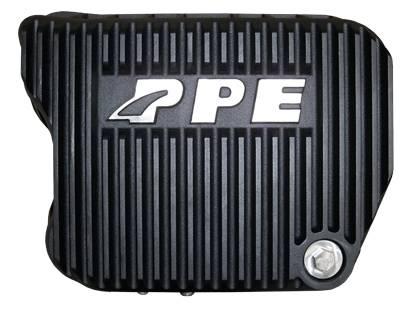 PPE - PPE 228051020 Heavy-Duty DEEP Aluminum Transmission Pan - Dodge Black