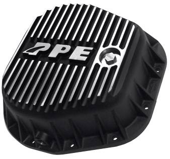 PPE - PPE 338051010 Heavy-Duty DEEP Aluminum Rear Differential Cover Brushed - Ford