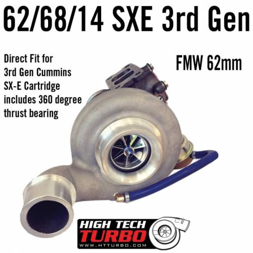 High Tech Turbo - Dodge 2003-2007 HTT Turbo 62/68/14 SX-E