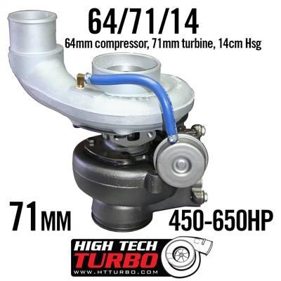 High Tech Turbo - T3 High Tech Turbo 64/71/14 Cummins 6.7