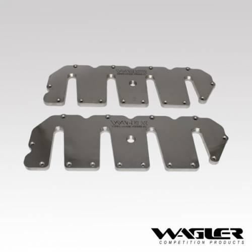 Wagler Competition - Wagler WCPC6682 Duramax Billet Upper Valve Covers LLY,LBZ,LMM