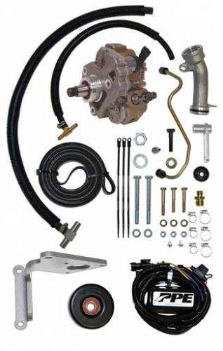 PPE - PPE 113061100 Dual Fueler Installation Kit with CP3 Pump - GM 6.6L Duramax 2001 LB7