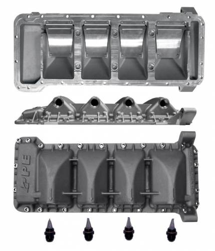 PPE - PPE 114051000 Duramax Dry Sump Pan 2001-2013 Duramax 6.6L Diesel