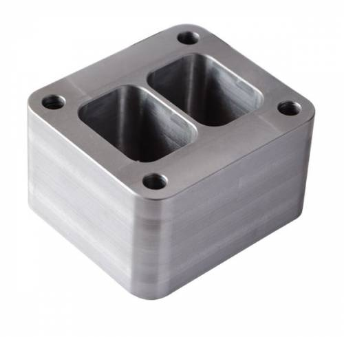 """PPE - PPE 116006058 T4 Riser Block - GM 6.6L Duramax Without wastegate port 3/8"""" Height"""