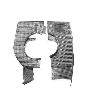 PPE - PPE 116010000 Inconel Marine Turbo Heat Shield - GM 6.6L Duramax 2004.5-2010