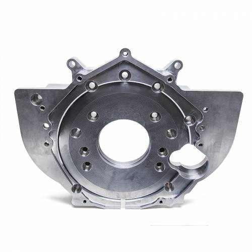 Dirty Hooker Diesel - DHD 030-602 Billet Aluminum Duramax Rear Engine Plate With Tabs 2001-2010