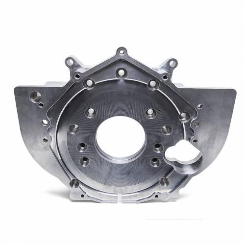 Dirty Hooker Diesel - DHD 030-602 Billet Aluminum Rear Engine Plate With Tabs 01-10 Duramax Diesel
