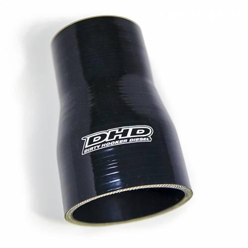 "Dirty Hooker Diesel - DHD 036-0261569 Long 3""-60mm Reducer Boot Black"
