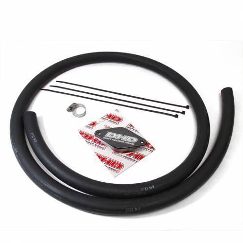 Dirty Hooker Diesel - DHD 007-7181 Deluxe 2011 LML PCV Reroute Kit