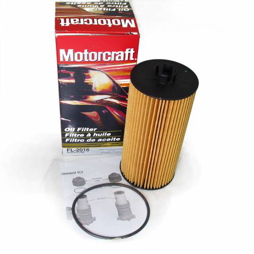 Motorcraft - Motorcraft 3C3Z-6731-AA Ford Powerstroke 6.0L Diesel Oil Filter Kit