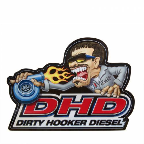 Dirty Hooker Diesel - DHD 061-001 Turbo Tony Sticker