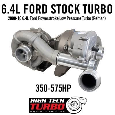 High Tech Turbo - HTT 479523-RX 2008-10 6.4L FORD POWERSTROKE LOW PRESSURE TURBO (REMAN)