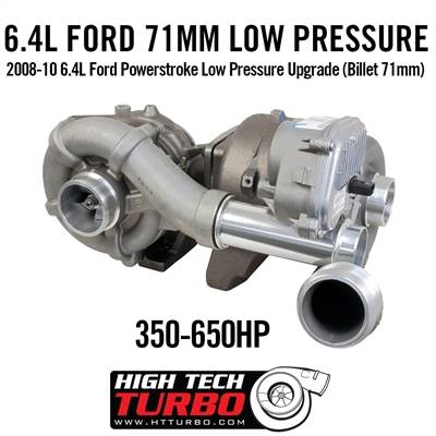 High Tech Turbo - HTT 479523-0071 2008-10 6.4L FORD POWERSTROKE LOW PRESSURE UPGRADE (BILLET 71MM)