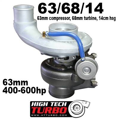 High Tech Turbo - Dodge 2003-2007 HTT Turbo 63/68/14 SX-E