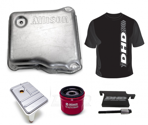 Dirty Hooker Diesel - DHD 100-950 Allison 1000 Deep Pan Kit w/DHD Filter Lock
