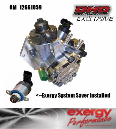 Dirty Hooker Diesel - DHD 12661059KE Duramax CP4 w/Exergy System Saver Upgrade